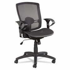 <strong>Alera®</strong> Etros Series Suspension Mid-Back Mesh Synchro Tilt Office Chair