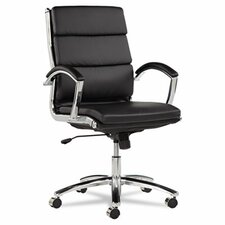 <strong>Alera®</strong> Neratoli Mid-Back Slim Profile Office Chair