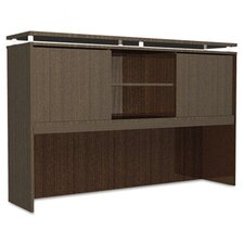 SedinaAG Series Hutch with Sliding Doors