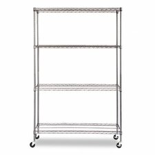 "Complete Wire 72"" H 3 Shelf Shelving Unit"