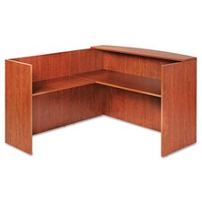 "Valencia Series 41.5"" H x 44.09"" W Reversible Desk Return"