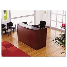 <strong>Alera®</strong> Valencia Series Reception Desk with Transaction Counter