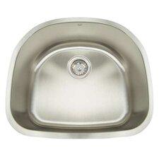 """Premium Series 23.5"""" x 21"""" Undermount Single Bowl Kitchen Sink"""