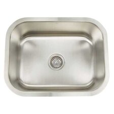 "Premium Series 35.25"" x 18.25"" D Rectangle Kitchen Sink"