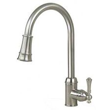 "16.94"" One Handle Single Hole Kitchen Faucet"
