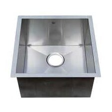 "Chef Pro 19"" x 19"" Single Bowl Undermount Kitchen Sink"
