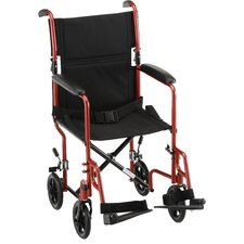 "<strong>Nova Ortho-Med, Inc.</strong> GO! Mobility Steel 19"" Transport Bariatric Wheelchair"