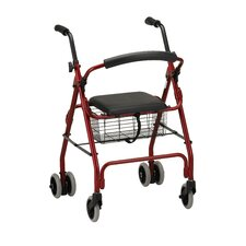Cruiser Classic Walker with Detachable Flip Back