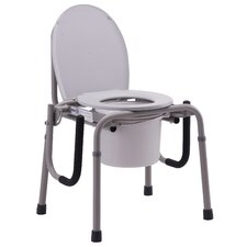 <strong>Nova Ortho-Med, Inc.</strong> Drop-Arm Commode in Gray