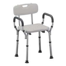 Deluxe Bath Seat with Arms and Back