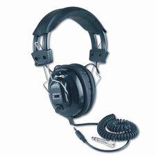 Deluxe Mono Volume Control Stereo Headphones