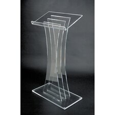 <strong>AmpliVox Sound Systems</strong> Contemporary Acrylic Lectern