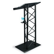 Truss Lectern in Black Anodized