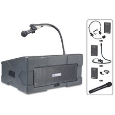 Wireless Roving Rostrum Podium PA