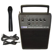 Wireless Rechargeable Mity-Vox 20 Watt PA System
