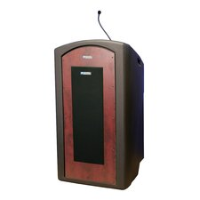 <strong>AmpliVox Sound Systems</strong> Pinnacle Full Height Lectern