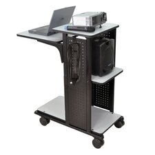 "<strong>AmpliVox Sound Systems</strong> 34.5"" Mobile Presentation Station"