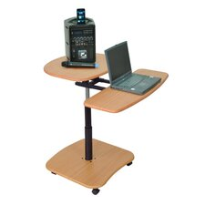 Adjustable Hydraulic Multimedia Cart