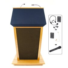 <strong>AmpliVox Sound Systems</strong> PatriotPlus Wireless Sound Lectern