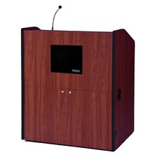 <strong>AmpliVox Sound Systems</strong> Standard-Sound Wide-Multimedia Lectern