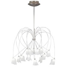 <strong>T Trak</strong> Rhapsody 15 Light Chandelier