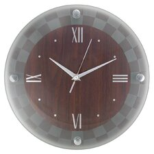 """Frosted Glass 12"""" Wall Clock (Set of 3)"""