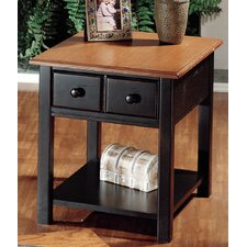 Market Square End Table