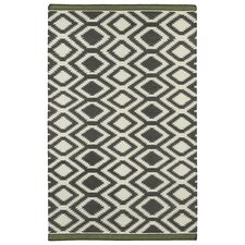 Nomad Grey Geometric Rug
