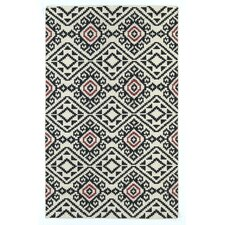Nomad Black Geometric Rug