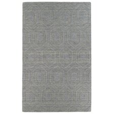 Imprints Modern Steel Geometric Rug