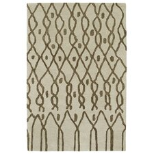 Casablanca Ivory Geomatric Indoor/Outdoor Rug