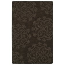 Imprints Classic Chocolate Solid Rug