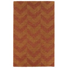 <strong>Kaleen Rug Co.</strong> Imprints Modern Paprika Geometric Rug