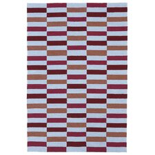 Matira Cranberry Indoor/Outdoor Rug