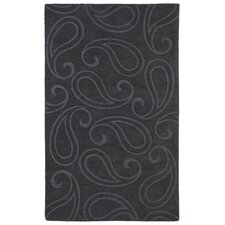 Imprints Classic Charcoal Geometric Rug