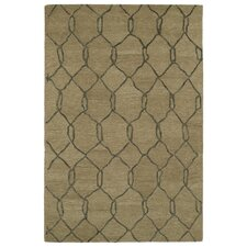 Casablanca Brown Geomatric Indoor/Outdoor Rug