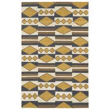 <strong>Kaleen Rug Co.</strong> Nomad Gold Geometric Rug