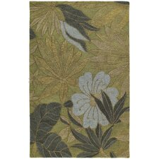 Calais Blooming Heights Green Rug