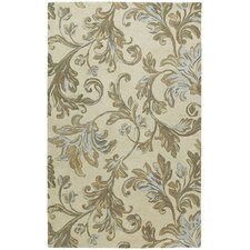 Calais Floral Waterfall Ivory Rug