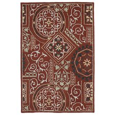 Brooklyn Red Xander Rug