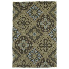 Habitat 21 Courtyard Mocha Indoor/Outdoor Rug