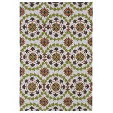 Home and Porch Brown Indoor/Outdoor Rug