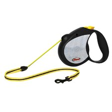 Neon Reflect Retractable Cord Leash