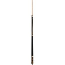 Pool Cue in Black with Large Blue Diamonds