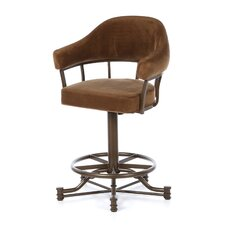 "Lodge 26"" Bar Stool with Cushion"