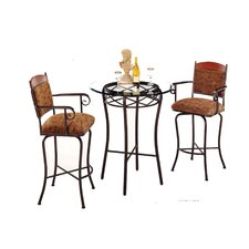 Madera 3 Piece Counter Height Pub Table Set