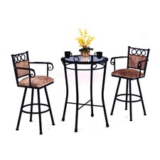 Winston 3 Piece Pub Table Set