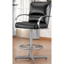 "Dallas 34"" Swivel Bar Stool with Cushion"