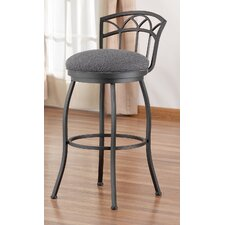 "<strong>Tempo</strong> Frolic 30"" Swivel Bar Stool with Cushion"