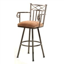 "Arlington 30"" Bar Stool with Cushion"